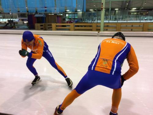 Afsluiting schaatsseizoen 2017/2018